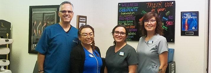 Chiropractor Novato CA Douglas DeSalvo and Team