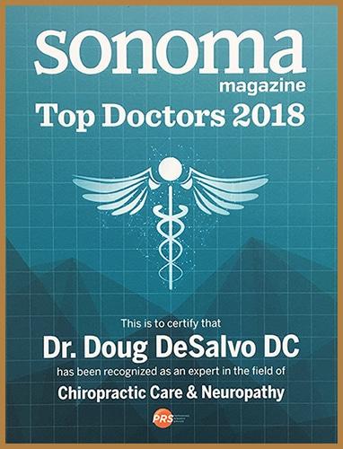 Sonoma Magazine Top Doctors 2018
